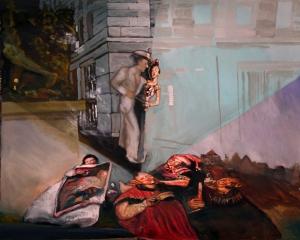Comme un scarabée dans un bol et autres peintures 2012 004