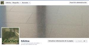 Edíctica en facebook