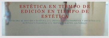 ESTÉTICA EN TIEMPO DE edición EN TIEMPO DE ESTÉTICA